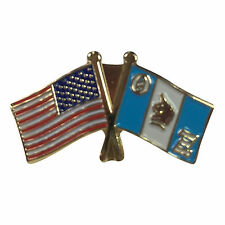 Theta Xi Flag and USA Flag Lapel Pin