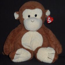 LARGE DANGLES the MONKEY - TY PLUFFIES - MINT with MINT TAGS (APPROX. 14 INCHES)