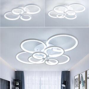 Modern LED Ceiling Light Chandelier Flush Mount Hanging Lamp Living Room Bedroom