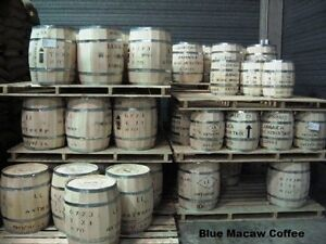 100% Jamaican Blue Mountain Coffee Whole Bean Medium Roasted Daily 5 - 1LBS Bags