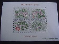 Monaco 1986 Seasons Of The Strawberry Tree M/Sheet  SG MS1803, MNH  Cat £16.00