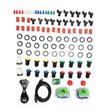 Arcade Parts Bundles Kit with SEIMITSU Joystick Button 2 Players USB to Jamma PC
