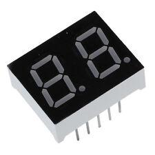 "5cs Common Cathode 10 Pin 2 Bit 7 Segment 0.4"" Red LED Display Digital Tube DT"