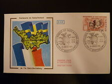 FRANCE PREMIER JOUR FDC YVERT 1985   ST BARTHELEMY   1,10F  ST BARTHELEMY  1978