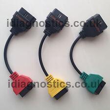 MultiECUScan FiatECUScan Cable Adaptors Engine Airbag ABS Alfa Fiat Lancia ECU