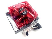 "1 PC New 80mm 8cm 3.15"" Red 4 LED LEDs Case Power Supply Fan 3/4 Pin DC12V fans"