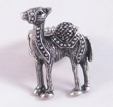Very Unique & Ornate Antiqued Silver Camel Stretch Ring #R1131
