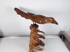 Sculpture Bois Oiseau années 1920/30