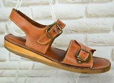 ECCO Mens Brown Leather Sandals Strappy Casual Summer Shoe Size 10 UK 44 EU