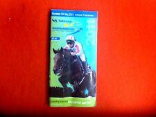 2011 TABCORP  WARRNAMBOOL MAY RACING CARNIVAL  OFFICIAL RACE BOOK 4TH MAY