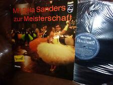 "Bela Sanders, zur Meisterschaft, Philips HI-FI STEREO 840431 PY,  LP, 12"" 10.63"