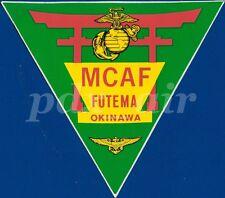 RARE MCAF FUTEMA OKINAWA USMC MARINE CORPS AIR STATION LARGE STICKER