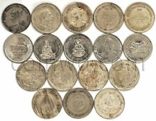 INDIA 17 COINS SET 1985-2010 1 RUPEES VF-XF (#1262)