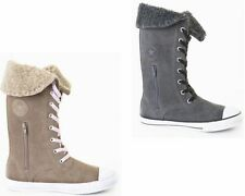 Scarpe Stivali grigio per bambine dai 2 ai 16 anni