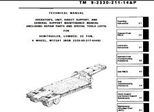 25 Ton Military Low Boy Trailer Wheel Hub M172A1 [D2FLR]