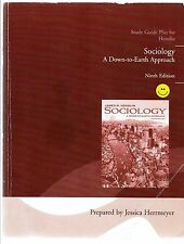 Softcover Study Guide Plus For Henslin Sociology A Down to Earth Approach 9th Ed