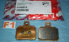 2 plaquettes de frein Ducati 61340951A MONSTER 821 1200 HYPERMOTARD 821 939 1100