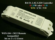 R4-5a LED RGB RGBW STRIP RF 2.4 GHz controller wireless 5v-24v 5a x 4 canale 2.4g