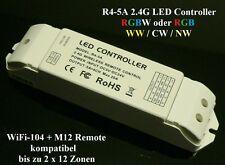 LTECH r4-5a LED RGB RGBW Stripe 2.4ghz wireless WLAN CONTROLLER STRISCE 12v 24v