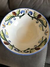 New Fitz And Floyd Ricamo Round Bowl 64-483