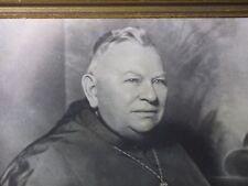 Archbishop Thomas Toolen Alabama Diocese Framed Photo M I Borris NY Clergyman