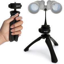 """2 in 1 Kit Mini Table Top Stand Tripod + Binocular Metal Adapter 1/4"""" Thread"""