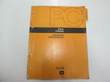 John Deere 6405 Bulldozer Parts Catalog Manual Stained Worn Factory Oem Deal