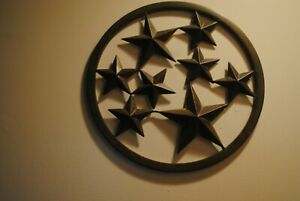 Stars Metal wall decoration