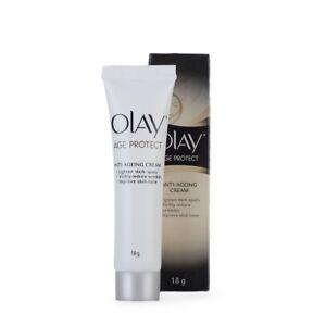 Olay Age Protect 18 Gram Face Cream Anti Ageing Dark Spot Wrinkles Skin