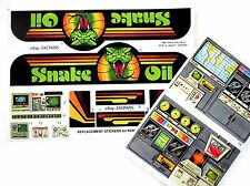 MASK stickers for KENNER M.A.S.K OUTLAW Stickers Personalized