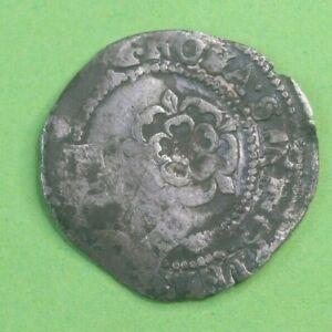 James I Stuart Period Hammered Silver Half Groat Coin
