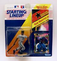 VINTAGE SEALED 1992 Starting Lineup SLU Figure Ken Griffey Jr Mariners