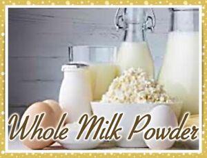Whole Fat Dry Powdered Milk*USA Quality* Mylar Bag*BulK*Emergency Food*MRE* 5.lb