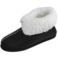 JACKSHIBO Womens Winter Indoor Cozy Slippers Boots Ankle Plush House Warm Shoes