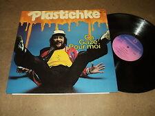 """@ PLASTICHKE 33 TOURS LP 12"""" BELGIUM (BELGIAN PUNK BRASSENS PIERRE PERRET)+"""