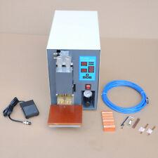 MT 220V Microcomputer Dual Pulse Spot Welder Machine PR50 Pneumatic Battery Pack