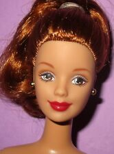 Barbie Mackie Redhead Hazel Eyes Red Lips Collector Doll Nude for OOAK or Play