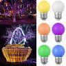 Fashion E27 220V 0.5W Led Bulb Colorful Golf Ball Light  Globe Lamp