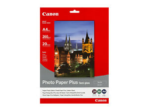 Canon Semi Gloss Photo Paper A4 20 Sheets 260gsm 210 X 297 mm SG201A4 High Quali