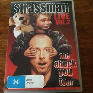 Strassman Live Vol 2 The Chuck You Tour DVD R4 VERY GOOD - FREE POST