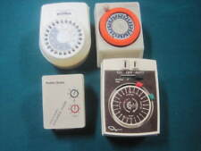 Lot Of 4 Vintage Appliance Timers Ingarham, Intermatic, Radio Shack, Toastmaster