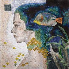 """Felix Mas Realm of Beauty"""" - Mosaic Reproduction """" Marine Life&Nautical Tile"""