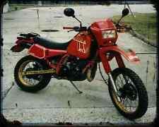 Gilera Rx Arizona 125 1 A4 Metal Sign Motorbike Vintage Aged