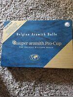 New SUPER ARAMITH PRO-CUP VALUE PACK Belgian Pool Balls