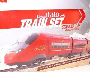 "Lima HO FS NTV ITALO Bullet Train MULTIPLE 3-UNIT High Speed Train ""Deluxe!"" MIB"