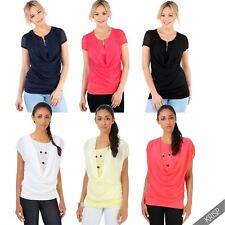 Short Sleeve Stretch Tunic, Kaftan Plus Size for Women
