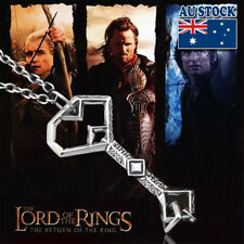The Hobbit Thorin Oakenshield Key Pendant Chain Necklace Cosplay