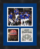 Chicago Cubs 2016 World Series Champions Framed Photo Collage Memorabilia11X14