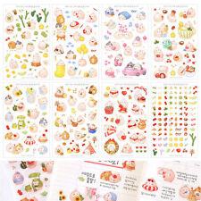 Molang Sticker Set Ver.4 Diary Planner Book Scrapbook Cute Rabbit Anime Decor