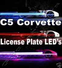 C5 Corvette LED License Plate Lights LS1 Z06 ZO6 GM LS6